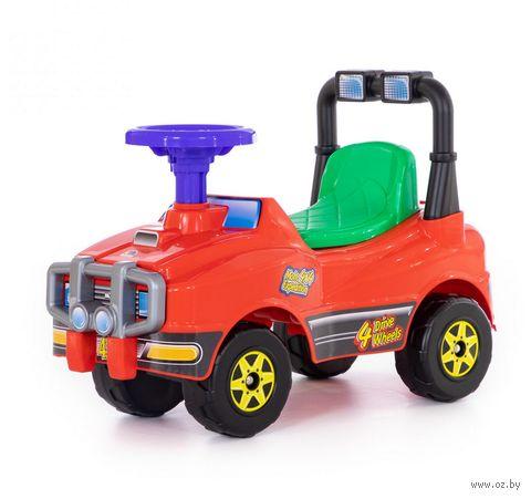 """Автомобиль-каталка """"Джип"""" (со звуковыми эффектами; арт. 62857) — фото, картинка"""