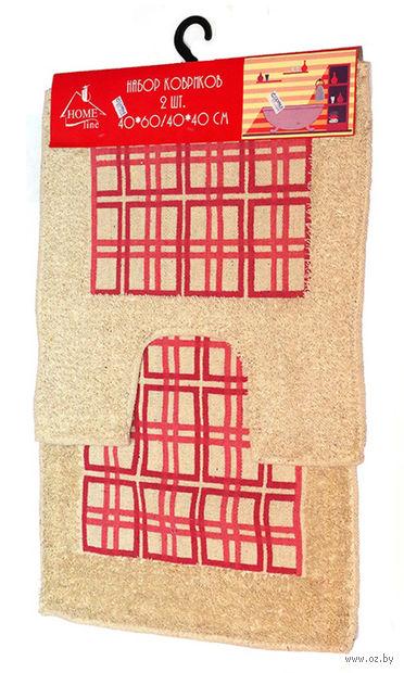 Набор ковриков текстильных (2 шт.; арт. S-0032) — фото, картинка