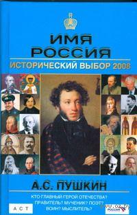 А. С. Пушкин. Имя Россия. Исторический выбор 2008 — фото, картинка