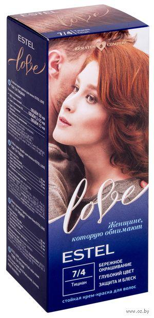 "Крем-краска для волос ""Estel Love"" (тон: 7/4, тициан) — фото, картинка"