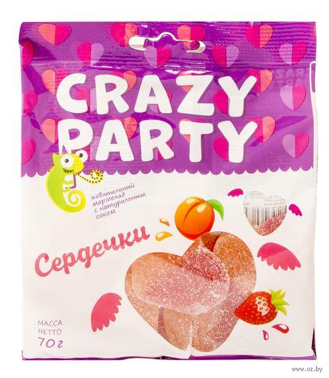 "Мармелад ""Crazy Party. Сердечки"" (70 г) — фото, картинка"