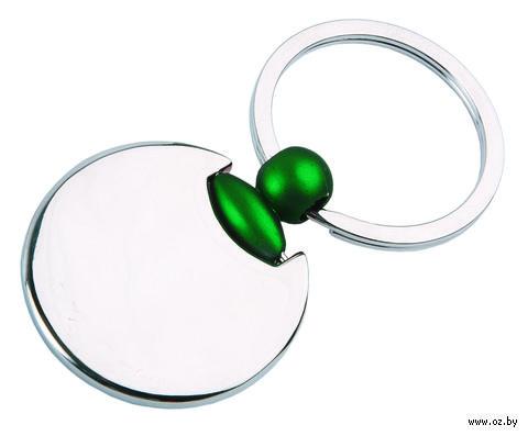 Брелок (круглый, зеленый)