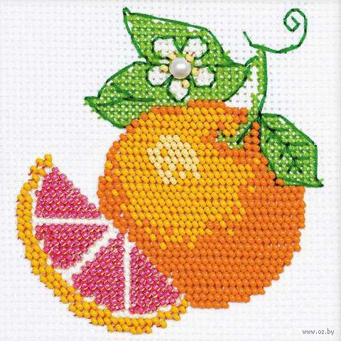 """Вышивка бисером """"Апельсин"""" (арт. 1263)"""