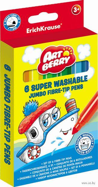 "Фломастеры ""Artberry. Super Jumbo"" (6 цветов)"