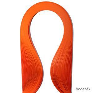 Бумага для квиллинга (300х5 мм; оранжевый; 100 шт)