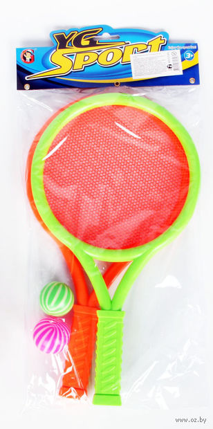 Набор для игры в теннис (2 ракетки, 2 мячика)