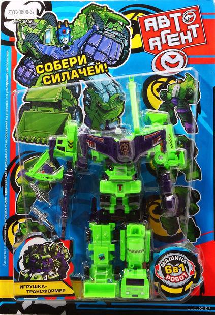 """Робот-трансформер """"АвтоАгент. 6 в 1"""""""