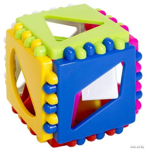 "Сортер ""Логический кубик"" — фото, картинка"