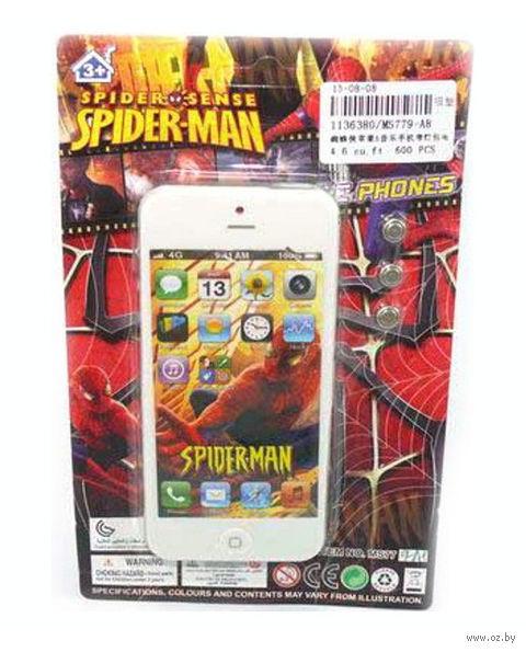 """Музыкальная игрушка """"Телефон. Человек-паук"""" (арт. MS779-A8) — фото, картинка"""