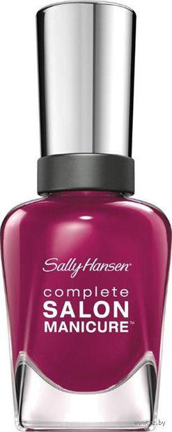 """Лак для ногтей """"Complete salon manicure"""" (тон: 639, бордовый)"""