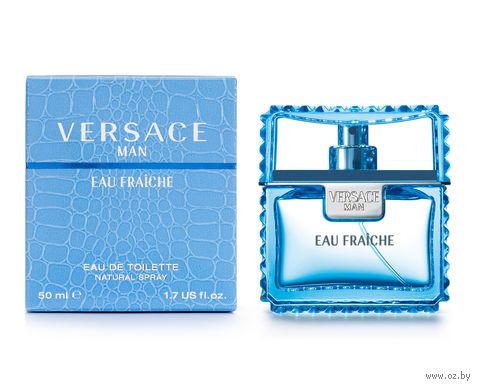"Туалетная вода для мужчин Versace ""Man Eau Fraiche"" (50 мл) — фото, картинка"