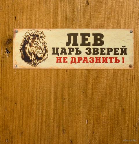"Табличка на дверь ""Лев"" — фото, картинка"