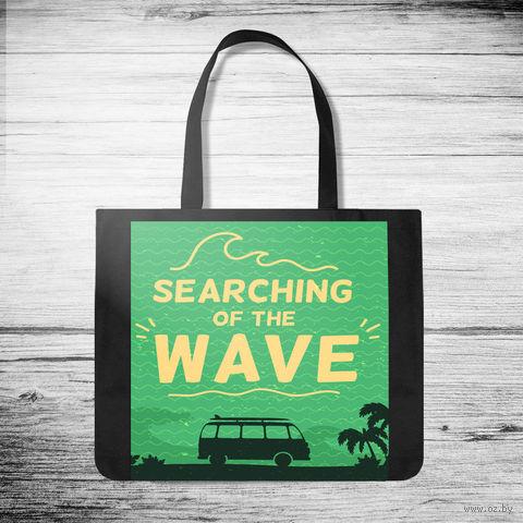 """Сумка-шоппер """"Searching of the wave"""" — фото, картинка"""