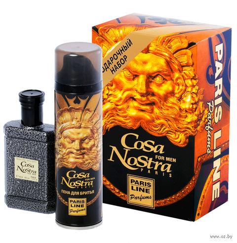 """Подарочный набор """"Cosa Nostra"""" (туалетная вода, пена для бритья) — фото, картинка"""