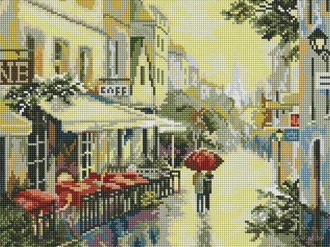 "Алмазная вышивка-мозаика ""Прогулка по улицам Парижа"" (300х400 мм) — фото, картинка"