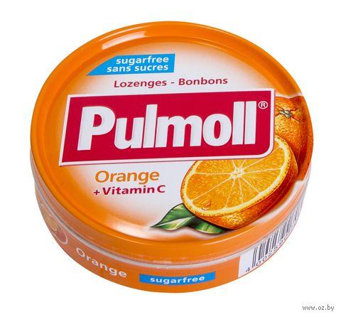 """Леденцы """"Pulmoll. Апельсин"""" (45 г) — фото, картинка"""