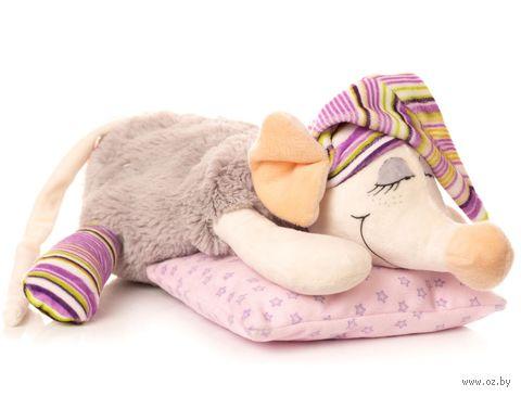 """Мягкая игрушка """"Сонная мышка"""" (24 см; арт. 1.89.1) — фото, картинка"""