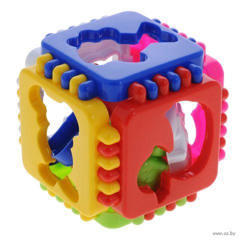 """Развивающая игрушка """"Логический куб. Веселые зверята"""" — фото, картинка"""