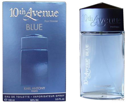 """Туалетная вода для мужчин """"10th Avenue Blue"""" (100 мл)"""