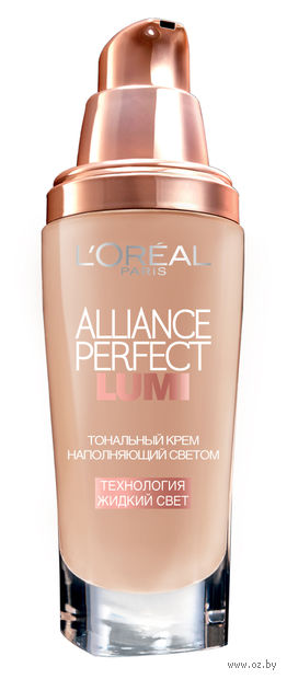 """Тональный крем для лица """"Alliance Perfect Lumi"""" (тон: RCK4, розово-бежевый; 30 мл)"""