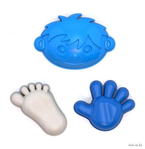 """Формочки для игры в песочнице """"Мальчик, ручка, ножка"""" — фото, картинка"""