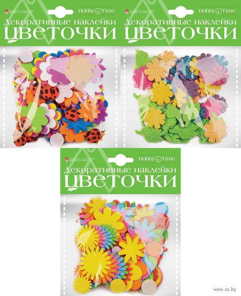 "Набор наклеек декоративных ""Цветочки"" — фото, картинка"