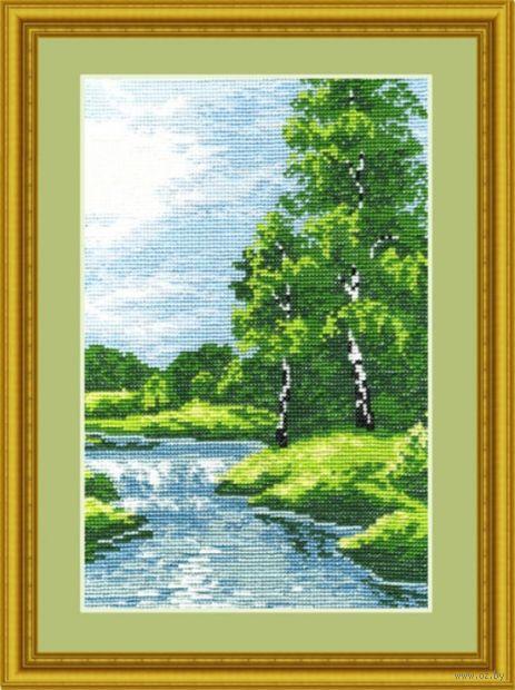 """Вышивка крестом """"Лето"""" (180х260 мм) — фото, картинка"""