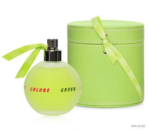 "Туалетная вода для женщин ""Colore Colore Green"" (100 мл) — фото, картинка"
