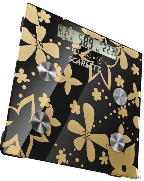 Весы напольные Scarlett SC216 (Gold)