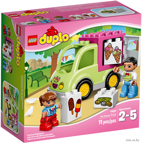 "LEGO Duplo ""Фургон с мороженым"""
