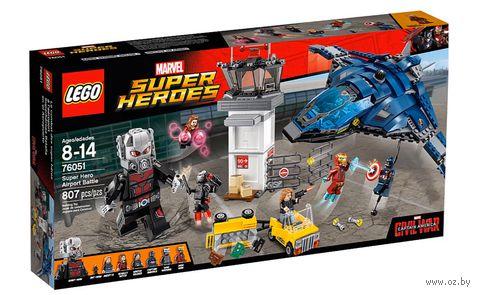 "LEGO Super Heroes ""Сражение в аэропорту"""