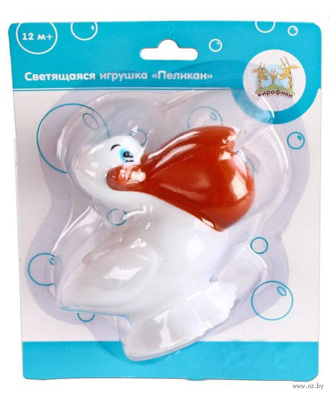 """Игрушка для купания """"Пеликан"""" (со световыми эффектами)"""