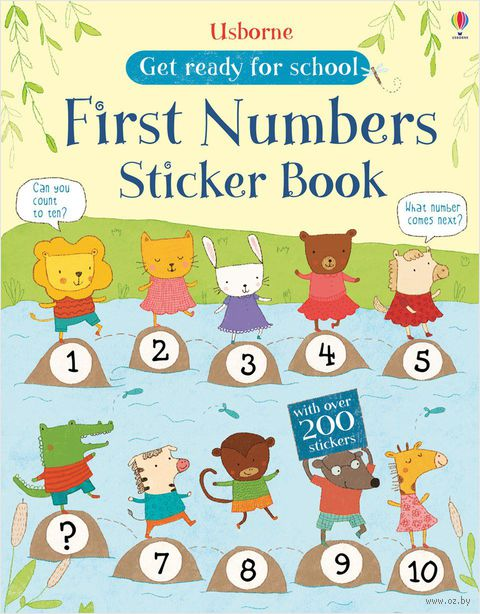 First Numbers. Sticker Book — фото, картинка