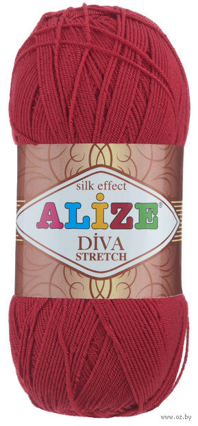 ALIZE. Diva Stretch №106 (100 г; 400 м) — фото, картинка