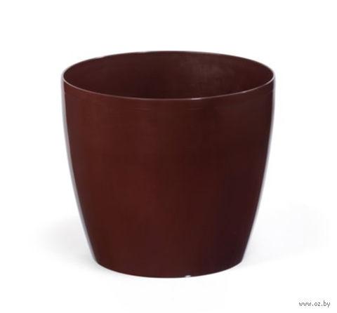 """Кашпо """"Magnolia"""" (18 см; мокко) — фото, картинка"""