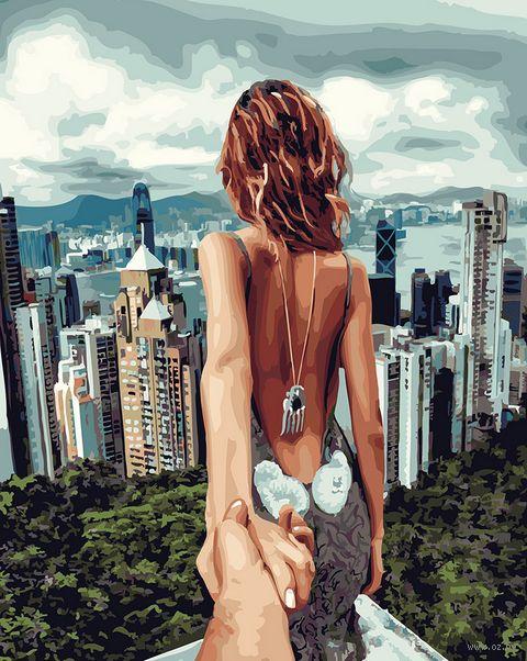 """Картина по номерам """"Иди за мной. Сингапур"""" (400х500 мм) — фото, картинка"""