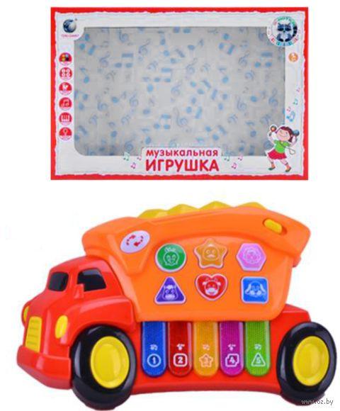 """Музыкальная игрушка """"Машинка"""" (со световыми эффектами) — фото, картинка"""
