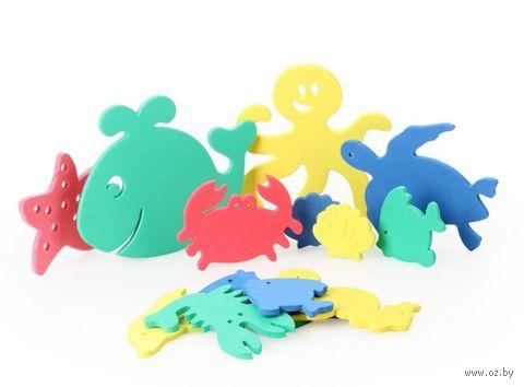 """Набор игрушек для купания """"Аква океан"""" (15 шт)"""