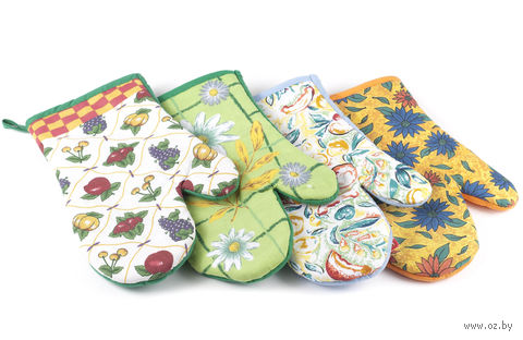 Рукавица-прихват для горячих предметов текстильная (26*17 см)