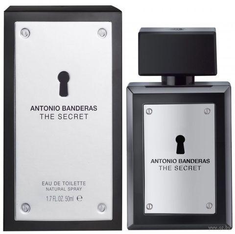 """Туалетная вода для мужчин Antonio Banderas """"The Secret"""" (50 мл)"""