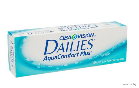 """Контактные линзы """"Dailies Aqua Comfort Plus"""" (1 линза; +4,5 дптр) — фото, картинка"""