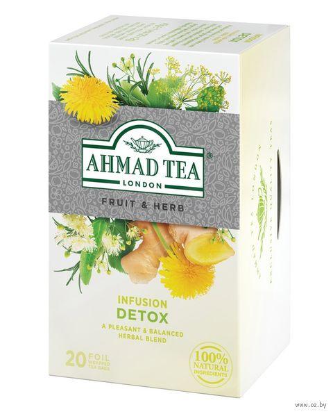 """Фиточай """"Ahmad Tea. Detox"""" (20 пакетиков) — фото, картинка"""
