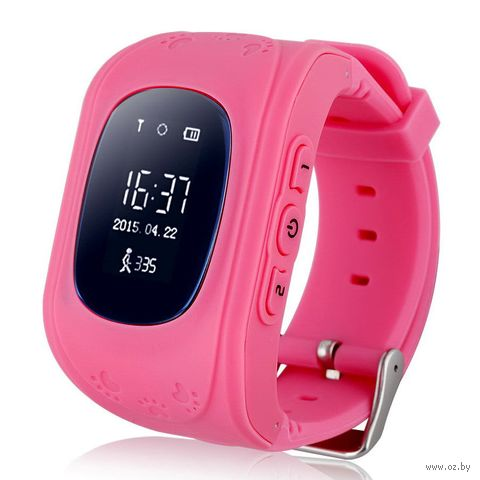 Детские часы SmartBabyWatch Q50 (розовые) — фото, картинка