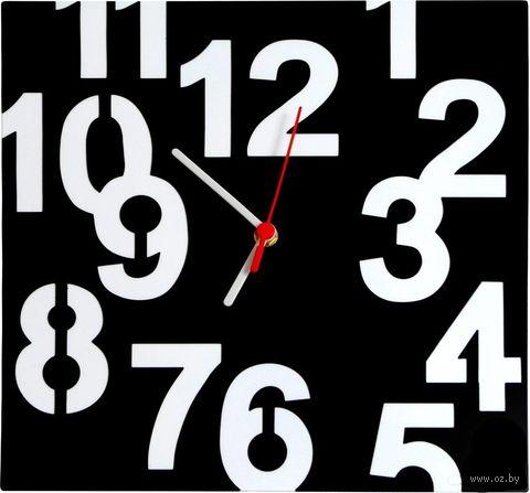 Часы настенные (30х30 см; арт. CH014) — фото, картинка