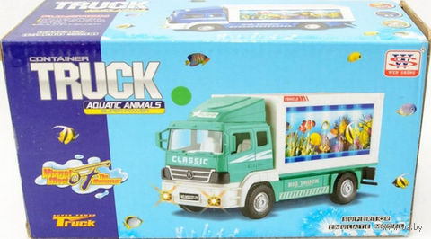 """Грузовик """"Truck"""" (со световыми эффектами)"""