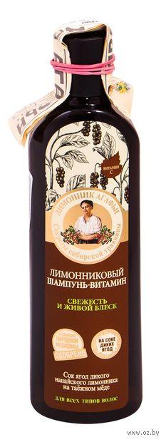 """Шампунь для волос """"Лимонниковый"""" (280 мл) — фото, картинка"""