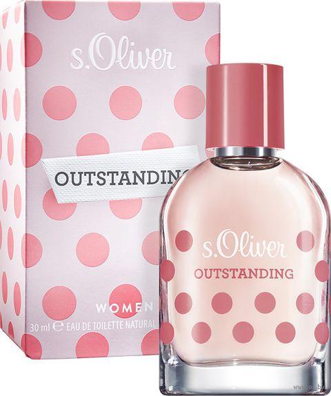 "Туалетная вода для женщин ""s.Oliver Outstanding Women"" (30 мл)"