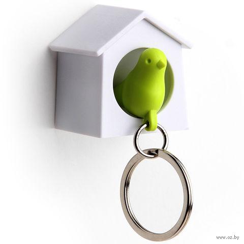 """Брелок-свисток и держатель для ключей """"Mini Sparrow"""" (зеленый)"""
