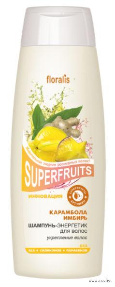 "Шампунь-энергетик для волос ""Карамбола и Имбирь"" (400 мл)"