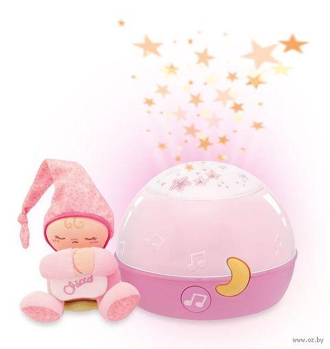 """Ночник детский """"Первые грёзы"""" (розовый) — фото, картинка"""